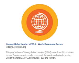 Young Global Leaders 2014 – World Economic Forum