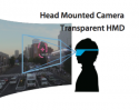 Head Mounted Camera Transparent HMD image