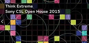 Sony CSL Open House 2015